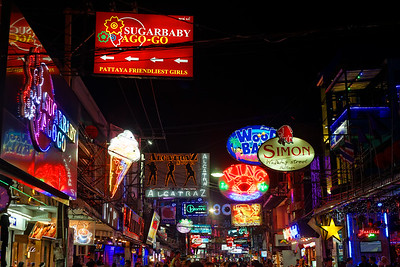 Walking Street, Pattaya, Thailand (5)