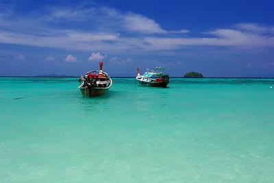 Shades of Emerald & Blue, Koh Lipe, Satun, Thailand