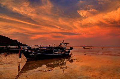 Taxi Boat, Koh Lipe, Satun, Thailand