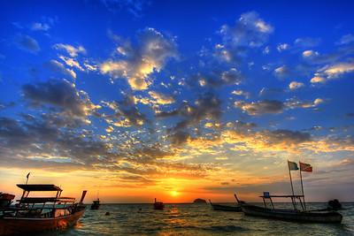 Sunrise on Sunrise Beach, Koh Lipe, Satun Thailand