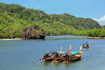 Lagoon Boats, Koh Tarutao, Pante Malacca, Thailand