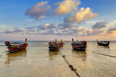 Long Tail Boats, Koh Lipe, Thailand (2)