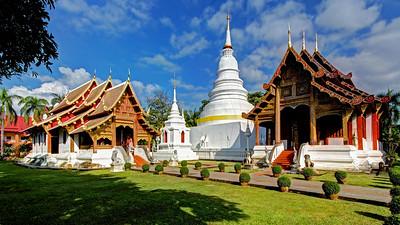 Postcard from Wat Phra Singh, Chiang Mai, Thailand