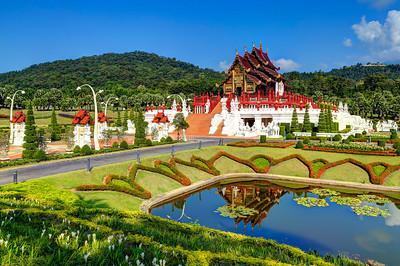 Chiang Mai, Royal Pavilion (Ho Kham Luang)  Royal Park Ratchaphruek  Thailand (2)