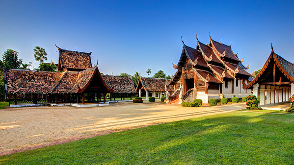 Chiang Mai, Classic Lanna Temple Style (1)