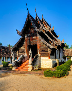 Chiang Mai, Classic Lanna Temple Style (2)