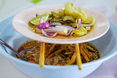 Northern Thailand Khao Soi (Noodles)