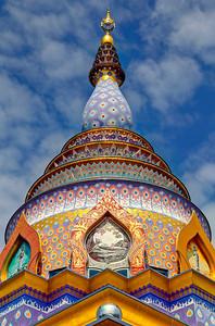 Chiang Rai, Chedi Kaew Exterior, Wat Thaton