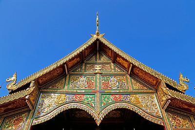 Chiang Rai, Temple (Detail)