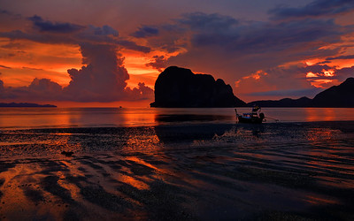 Spectacular Sunset, PakMeng, Trang, Thailand (4)