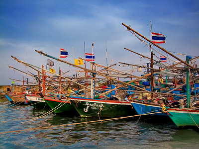 Hua Hin Fishing Fleet