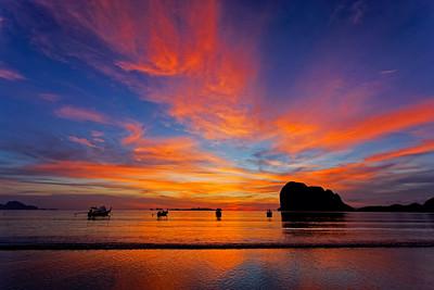 Spectacular Sunset, Andaman Sea, Pak Meng, Si Kao, Trang Province, Southern Thailand (3)