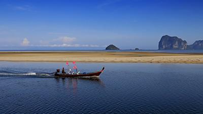 Returning to Port, Anantara Sikao Resort & Spa, Trang