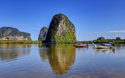 Tranquil Estuary, Pakmeng, Trang, Thailand