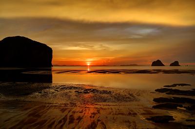 Andaman Sunset, Sikao,Trang, Thailand