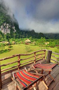 Cliff & River Resort, Khao Sok NP, Thailand