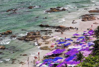 Hua Hin Beach Umbrellas