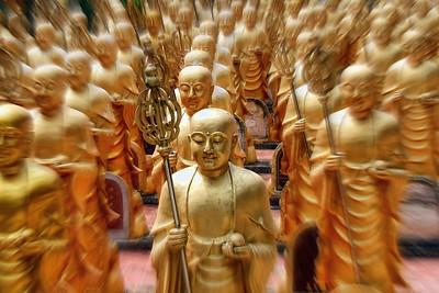 Mahapanya Vidayalai (College of Wisdom) Temple, Hat Yai, Golden Army #1