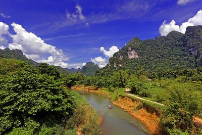 Floating, Khao Sok NP, Thailand