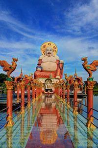 Buddha's Disneyland,  Wat Plai Laem, Koh Samui (Island), Thailand