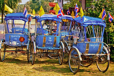 Samlor Parking, Ayutthaya