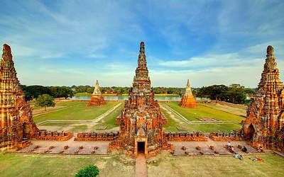 Wat Chai Wattanaram, Ayutthaya, Thailand (3)