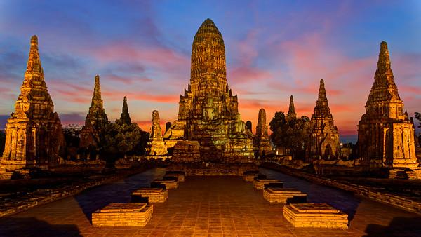 Wat Chai Wattanaram, Ayutthaya, Thailand (6)