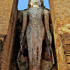 Standing Buddha, Wat Mahathat, Sukhothai, Thialand