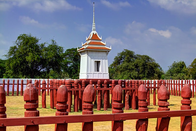 Royal Elephant Kraal in Ayutthaya