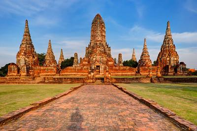 Wat Chai Wattanaram, Ayutthaya, Thailand (1)