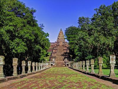 Processional Way, Prasat Hin Khao Phanom Rung, Thailand
