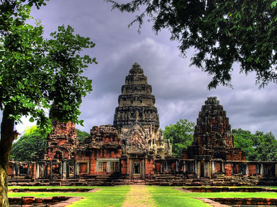 Passageway to the Central Sanctuary,  Prasat Hin Phimai, Thailand (2)