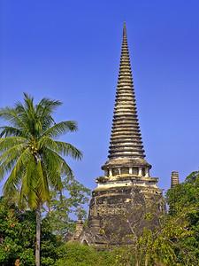 Chedi of Wat Phra Si Sanphet, Ayutthaya