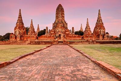 Wat Chai Wattanaram, Ayutthaya, Thailand (4)