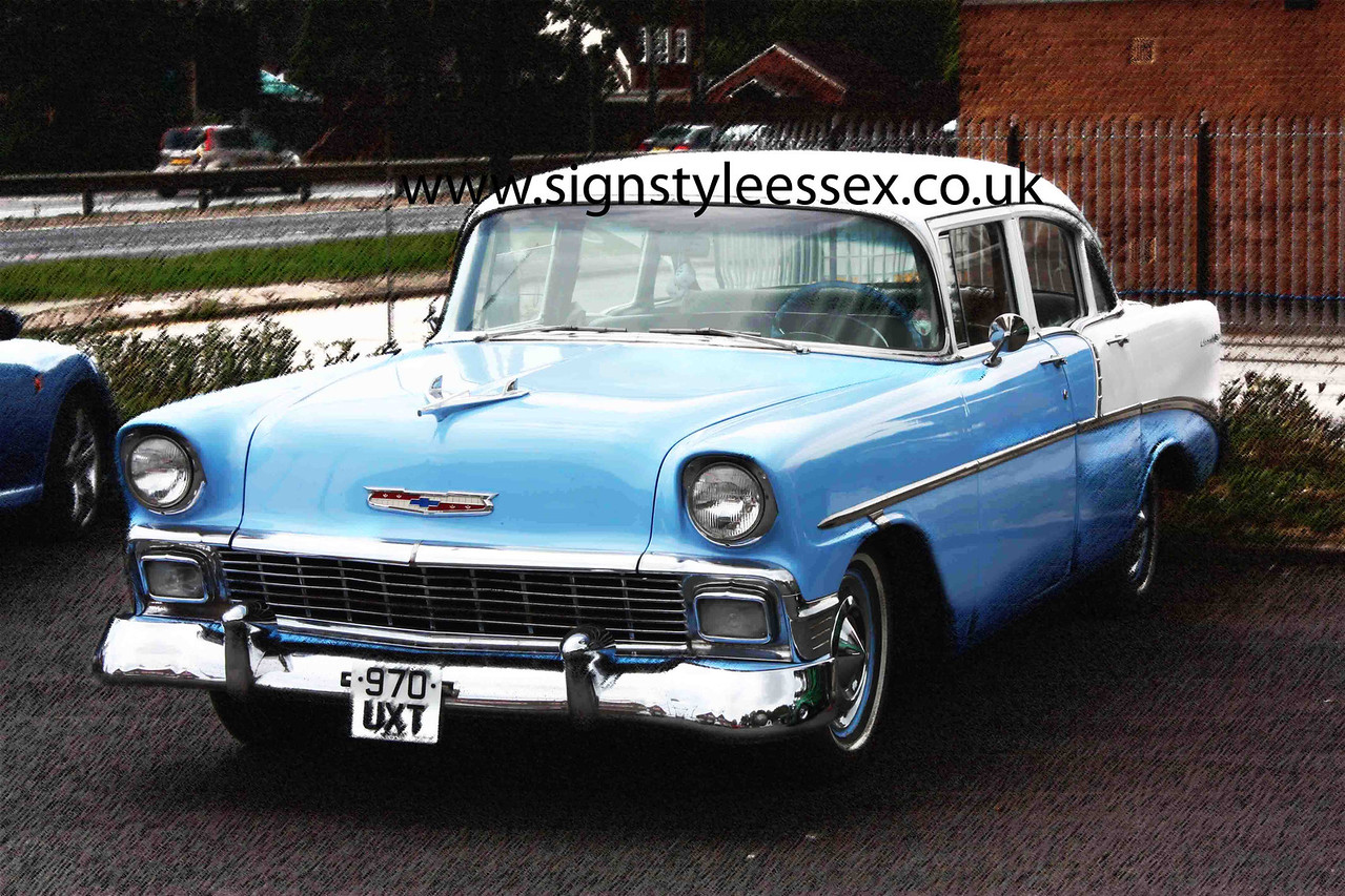 Superb 1956 Chevy
