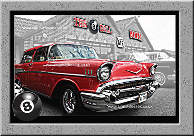 57 Chevy HDR Photo