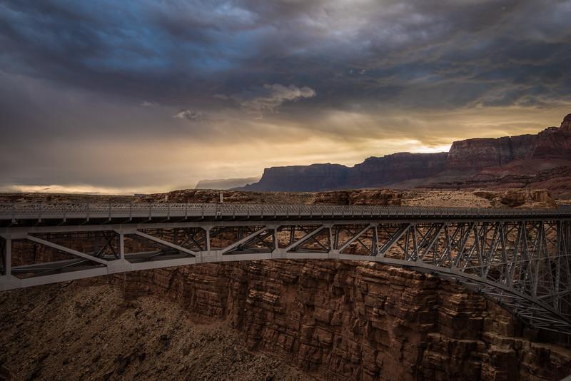 Navajo Bridge, Colorado River, AZ