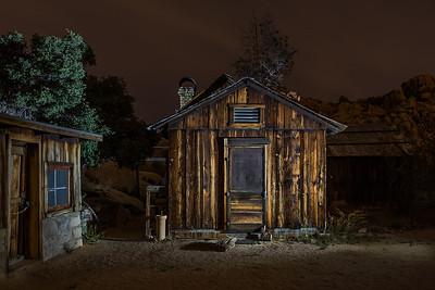 Keys Ranch at Night