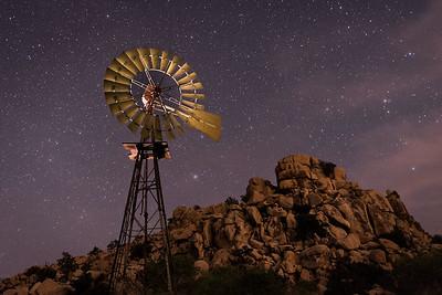 Wind Wheel and Stars