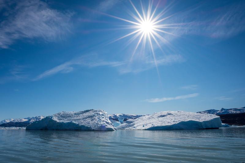 Large Iceberg near Upsala Glacier, Los Glaciares National Park