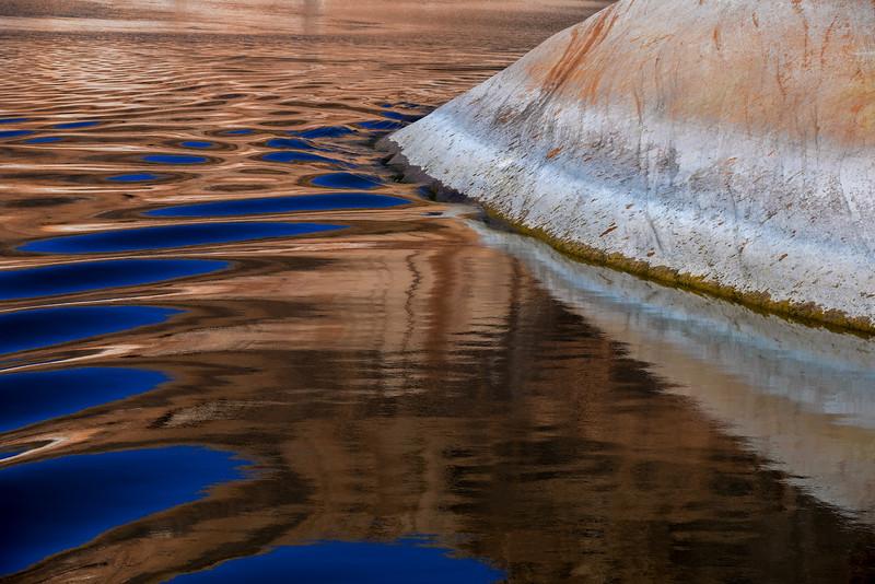 Water Reflection, Lake Powell, Arizona