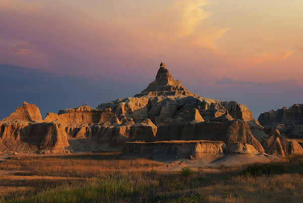 """""""Temple in the Badlands"""""""