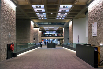 Barbican refurbishment. Arup.