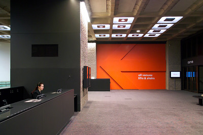 Barbican refurbishment - AHMM