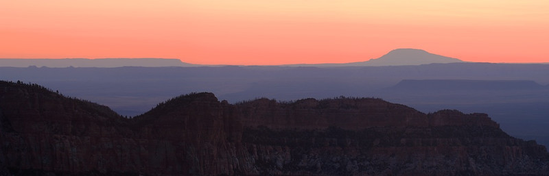 Sunrise From North Rim