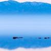 Sunrise Dry Lake Reflection