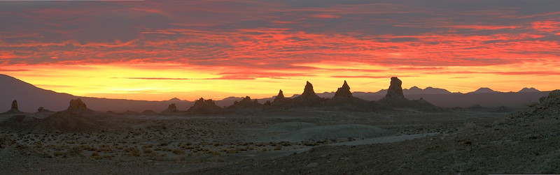 Pinnacles at Dawn