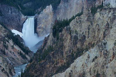Lower Yellowstone River Falls
