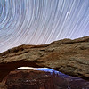 Mesa Arch & Star Trails - Canyonlands National Park, Utah