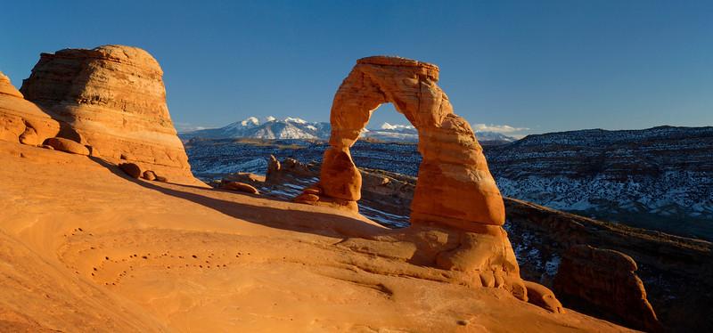 Delicate Arch & Snow